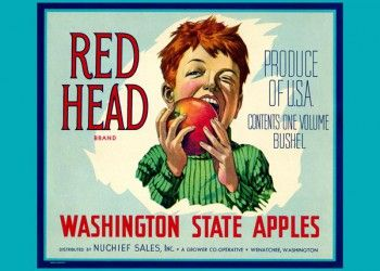206. Иностранный плакат: Red Head brand