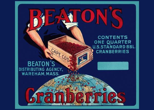 208. Иностранный плакат: Beatons Granberries