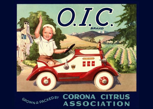 211. Иностранный плакат: O. I. C. brand