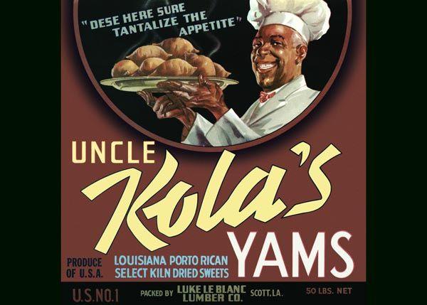 216. Иностранный плакат: Uncle Kola`s Yams