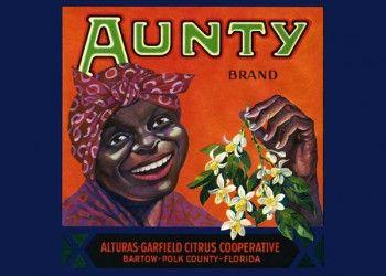 217. Иностранный плакат: Aunty brand
