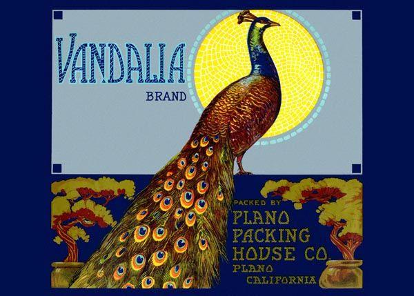 222. Иностранный плакат: Vandalia brand