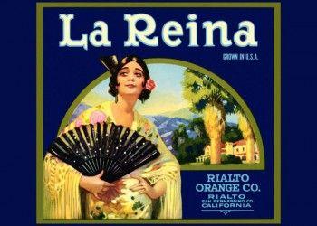 223. Иностранный плакат: La Reina
