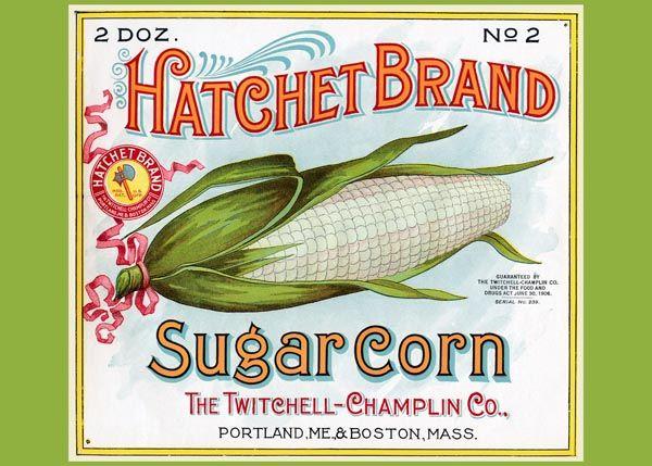 225. Иностранный плакат: Hathet Brand Sugar Corn