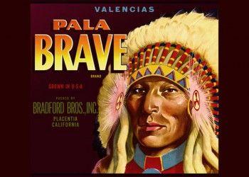 226. Иностранный плакат: Pala Brave brand