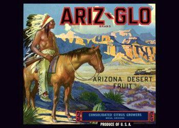 227. Иностранный плакат: Ariz - Glo brand