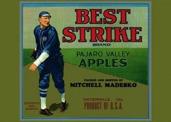 229. Иностранный плакат: Best Strike brand