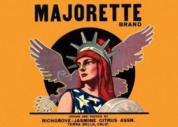 233. Иностранный плакат: Majorette brand