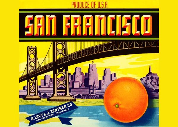 234. Иностранный плакат: San Francisco