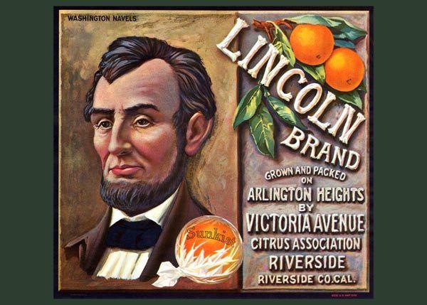 235. Иностранный плакат: Lincoln brand