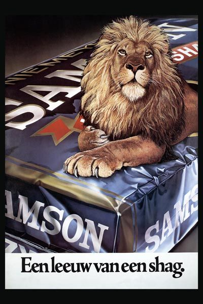 241. Иностранный плакат: Samson Halfzware Shag