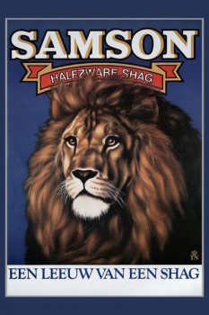 242. Иностранный плакат: Samson Halfzware Shag