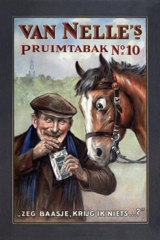 246. Иностранный плакат: Van Nelle`s pruim tabak № 10