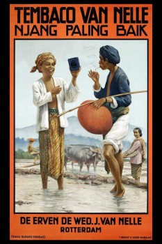247. Иностранный плакат: Tembaco Van Nelle njang paling balk