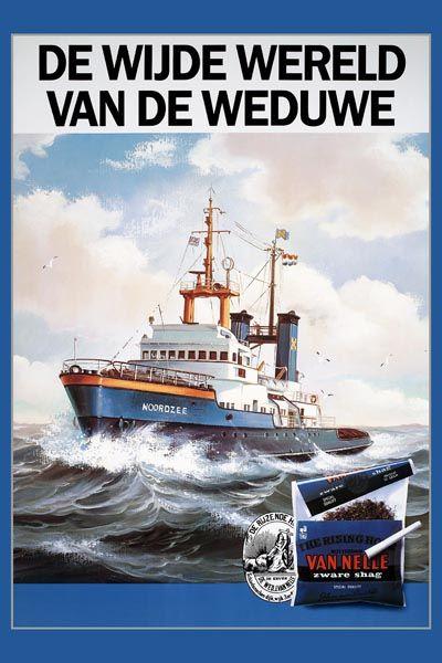 249. Иностранный плакат: De wijde wereld Van De Weduwe