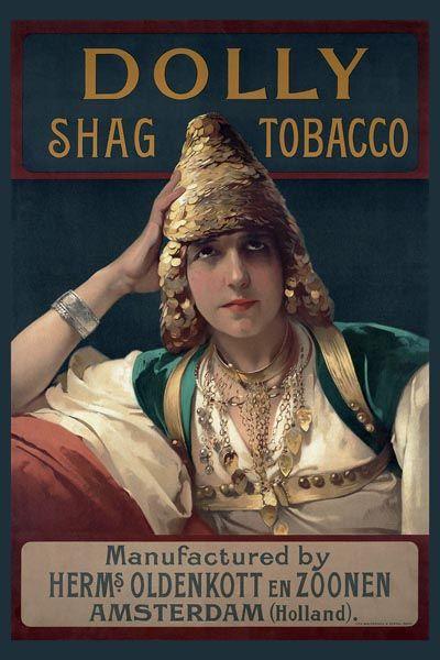 250. Иностранный плакат: Dolly Snag Tobacco