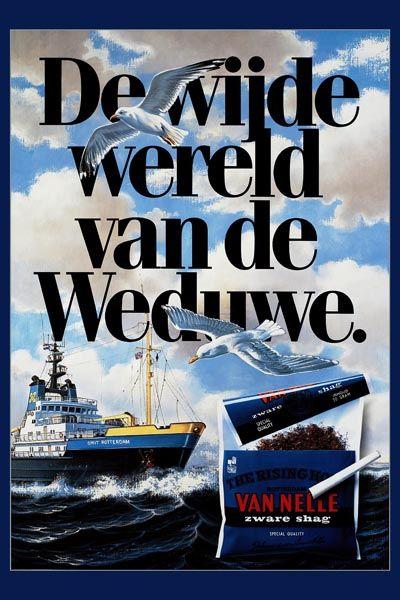 251. Иностранный плакат: De wijde wereld Van de Weduwe