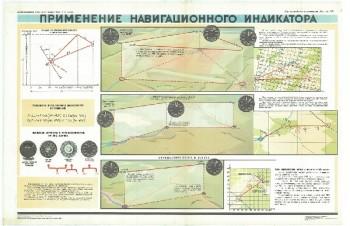 0620. Военный ретро плакат: Применение навигационного индикатора