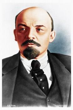 135. Советский плакат: Владимир Ильич Ульянов-Ленин