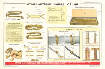 0195 (6). Военный ретро плакат: Стандартный заряд СЗ-4П