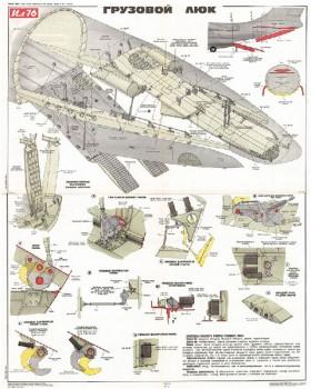 1184. Военный ретро плакат: Грузовой люк