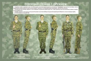 08. Строевая стойка с оружием